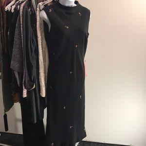 Evan-Picone Little Black Evening Dress